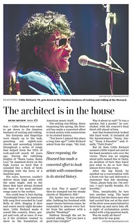 Little Richard Wash Post Tearsheet