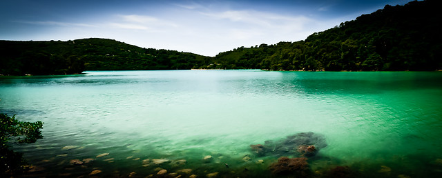 Mljet, Lago Veliko Jezero