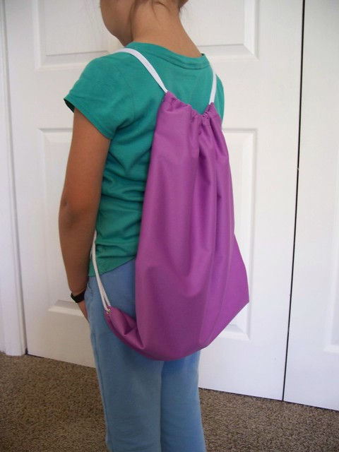 PUL Drawstring Backpack