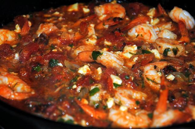 Baked Shrimp in Tomato Feta Sauce | Crazy Jamie's Blog