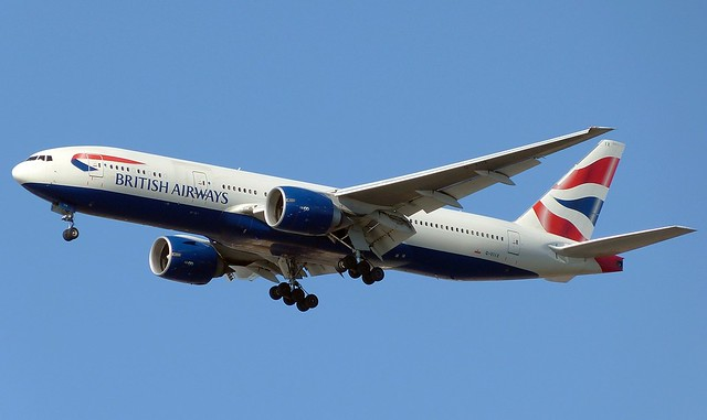 British Airways - G-VIIX - B777-236(ER)