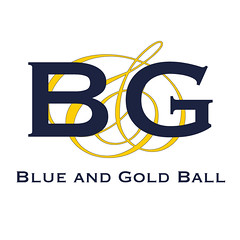 Blue and Gold Ball