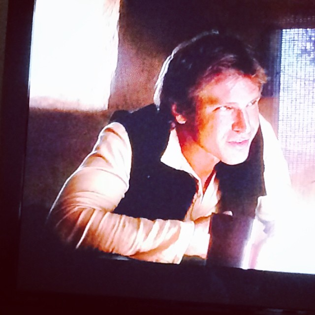 Sunday StarWars marathon. #100happydays