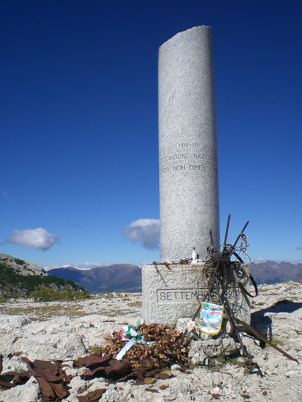 Colonna mozza - Monte Ortigara