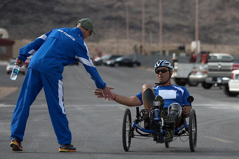 Air Force Wounded Warrior Team Trials