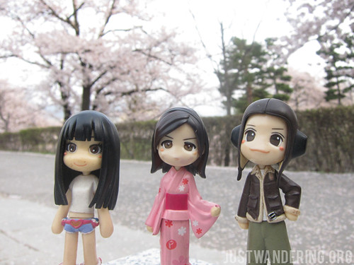 Sayuri with Mon-mon and Ron-ron