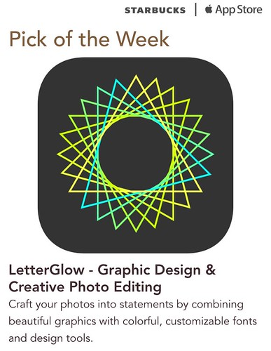 Starbucks iTunes Pick of the Week - LetterGlow