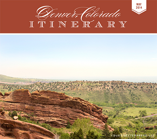 denver, colorado // itinerary
