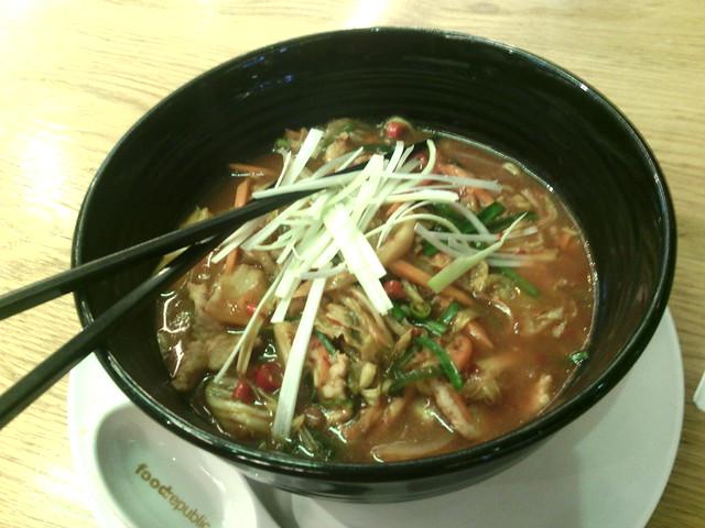 4. Food Republic Kimchi Ramen