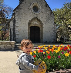 Class of 2037 visiting campus. Ready, @muadmissions?  by @haleylandsduran. #parkerMD
