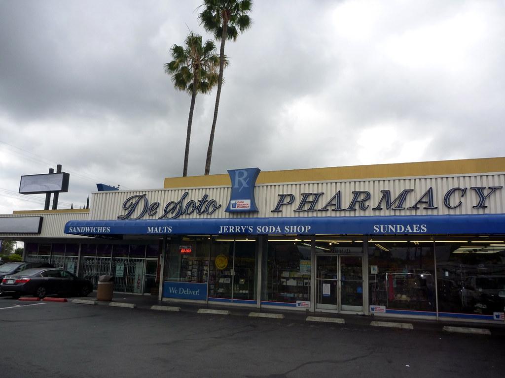 Desoto Pharmacy & Soda Shoppe Retro Roadmap Photos by Keith Valcourt