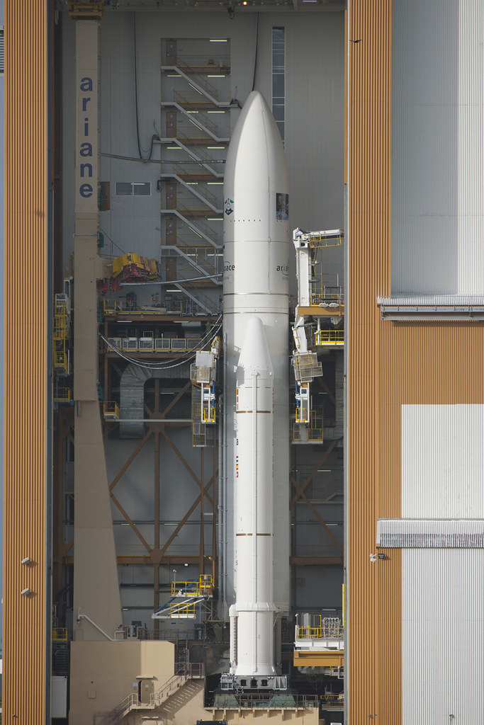 Ariane 5 with ATV <i>Edoardo Amaldi</I>