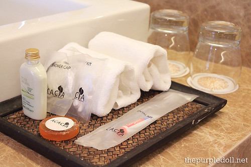 Acacia Hotel Manila Toiletries