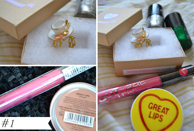 daisybutter - UK Style Blog: giveaway, i love crafty jewellery, mua cosmetics, love hearts