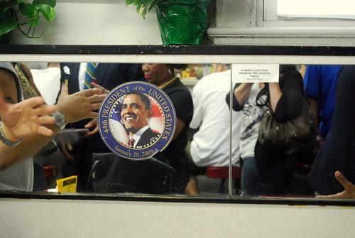 BCB - Obama Sat Here