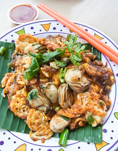 Oyster omelette /oh chien lorong selamat...R0017239 copy