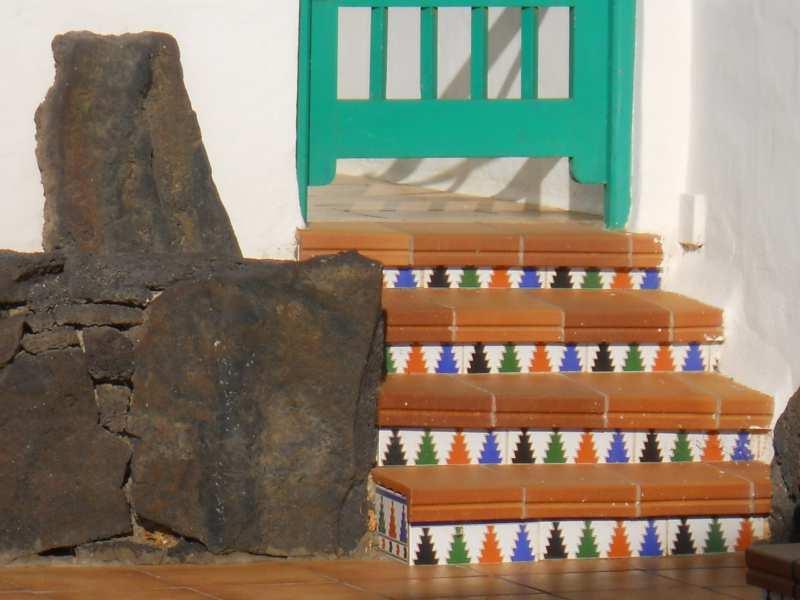 Escalera de entrada Lanzarote
