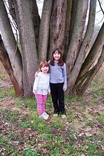 Lucy and Julia at the Tree of Many Trees