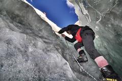 adventure(1.0), individual sports(1.0), sports(1.0), recreation(1.0), outdoor recreation(1.0), mountaineering(1.0), rock climbing(1.0), sport climbing(1.0), extreme sport(1.0), ice climbing(1.0), climbing(1.0),