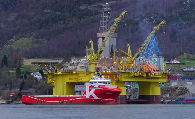 COSL Innovator & KL Brofjord