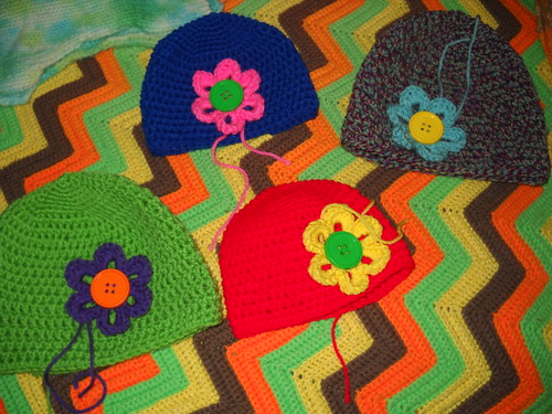 hats-in-progress