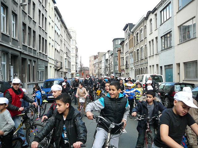 Antwerp Bicycle Ride to Mosques