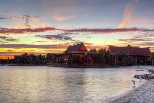 Chasing Sunrise at the Polynesian Resort