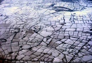 A Mosaic of tiny fields. No place for a forced landing