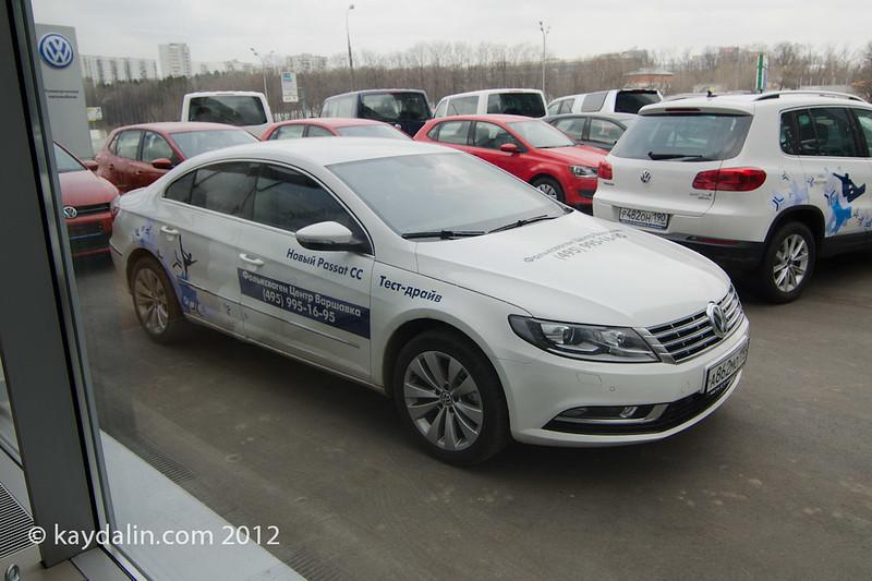 passat cc 2012 test drive