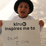 KLRU inspires me to... read.