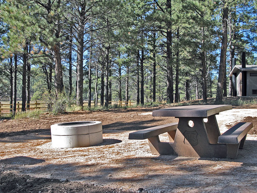 One of the new camping areas in the Buckeye Recreation Area. U.S. Forest Service photo.