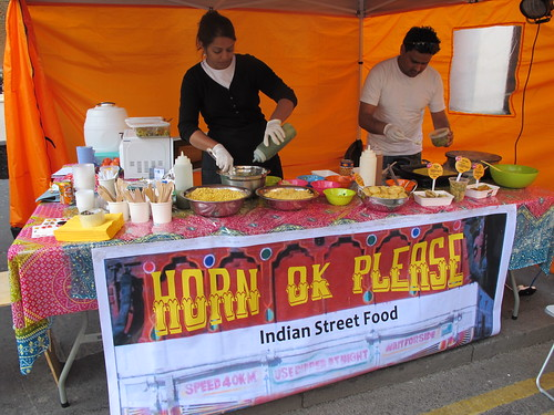 Horn OK Please - Indian street food