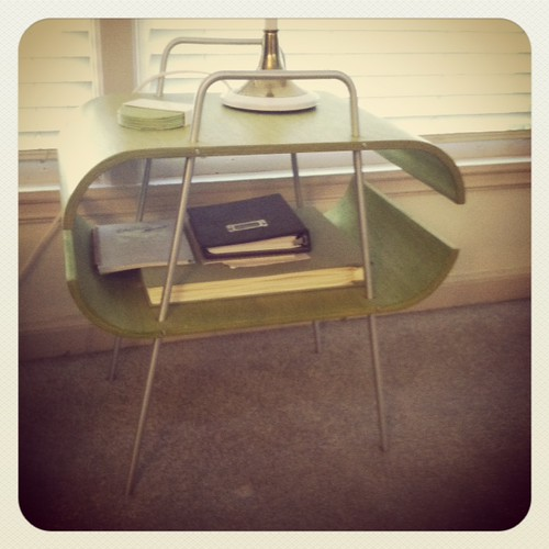 Chartreuse Table