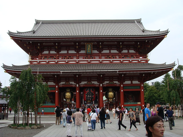 Biohazard side asakusa for Puerta kaminarimon