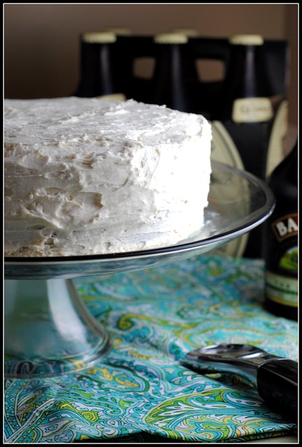 Dark Chocolate Guinness Cake with Bailey's Buttercream {Happy ...