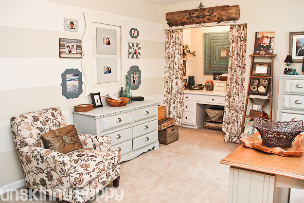 Pottery Barn Inspired Home Office decor