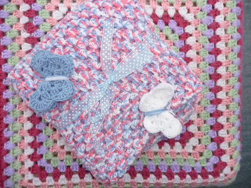 Katou (France) Has made and donated 'Layette Blanket'. Thank you so much it's gorgeous.