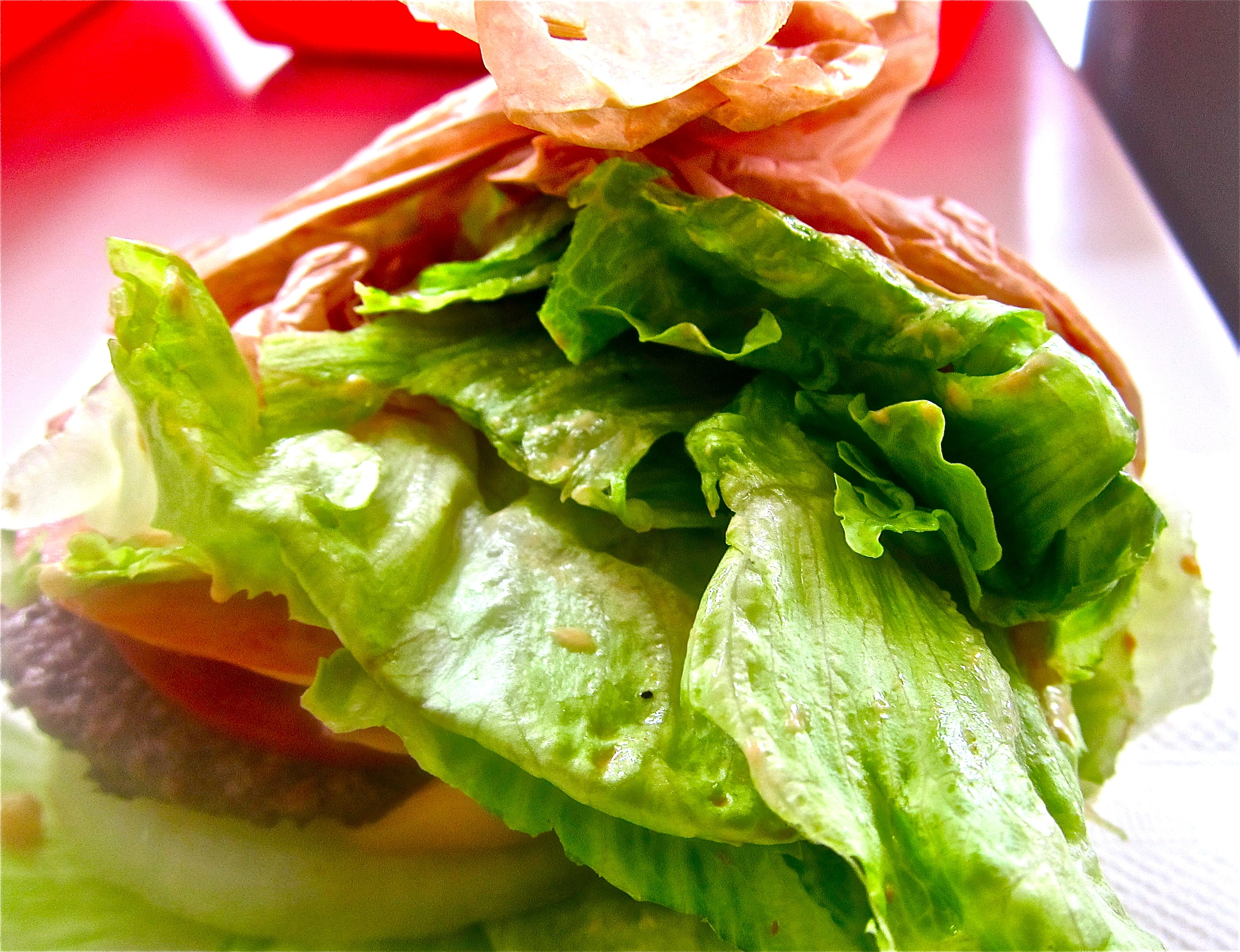 In-N-Out Protein-style Burger