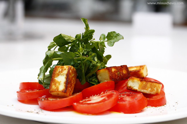 Pan Seared Haloumi, $21