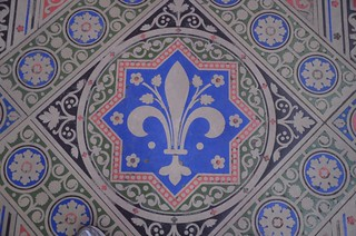 Sainte Chappelle floor, Paris