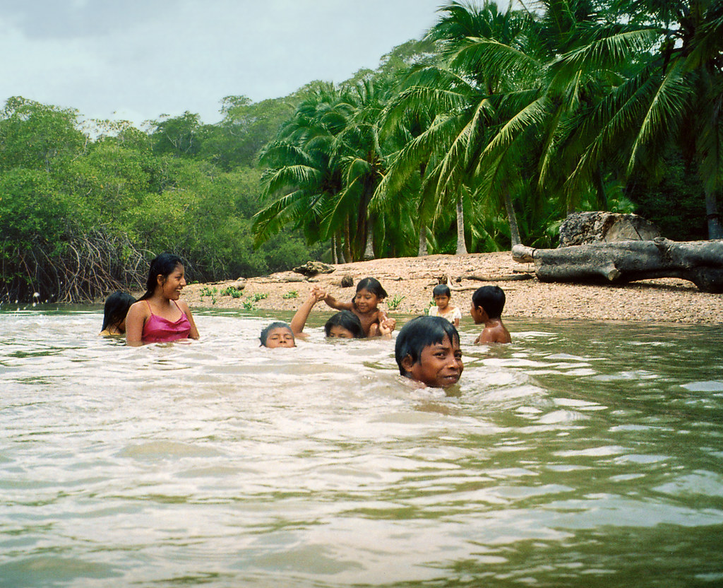 Embera Children, Darién, Panama