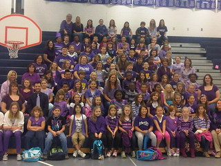 Peaks Mill Purple Up Day