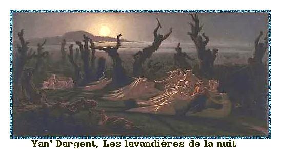 Yan' Dargent, Les lavandières de la nuit
