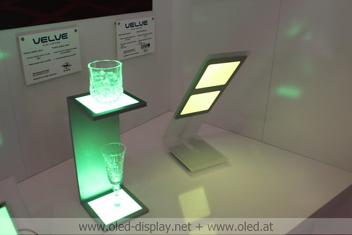 Verbatim OLED light and building 2012