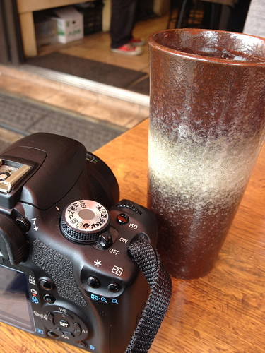 drink and camera
