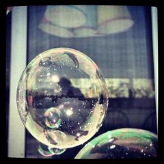 liquid bubble, sphere, space, reflection, circle,
