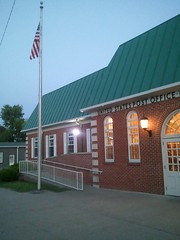 Boonville, MO Post Office @ Sunset