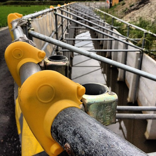 工事現場の柵 #barrier #construction #site