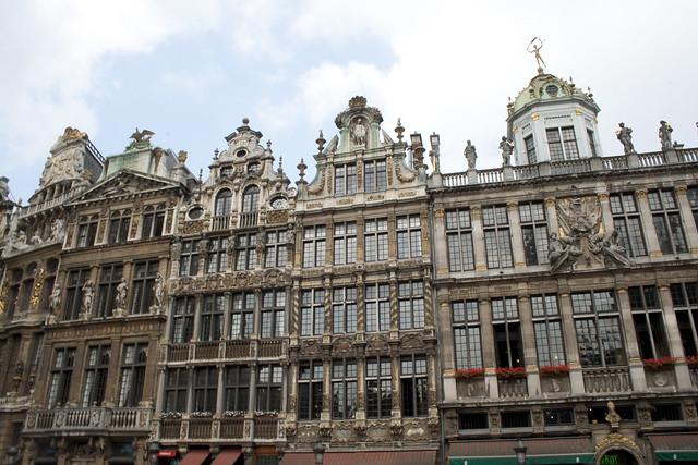 Arquitectura de la Grand Place