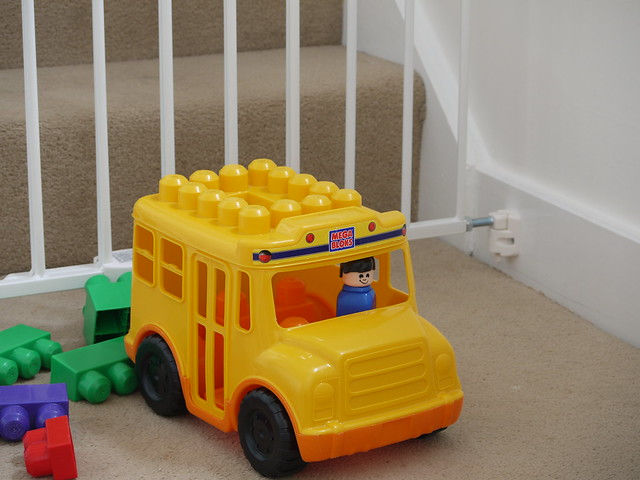 Stair gates and toys at The Salty Dog holiday cottage